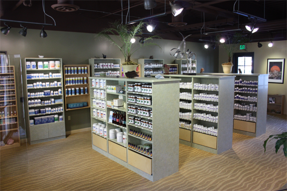 Some of our natural health products in San Diego, CA